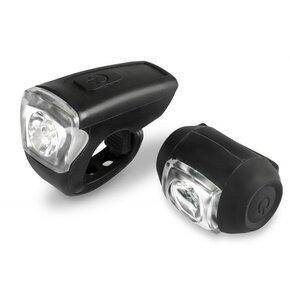 Lampka rowerowa BEST Zestaw USB
