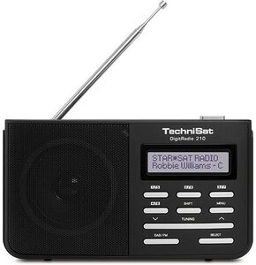Radio TECHNISAT DigitRadio 210 Dab+FM (Czarny)