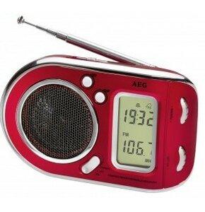 Radio AEG WE 4125 Czerwony