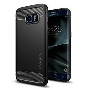 Etui SPIGEN Rugged Armor do Samsung Galaxy S7 Edge Czarny