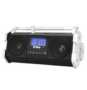 Radio ELTRA MAJA USB Czarno-srebrny