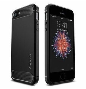 Etui SPIGEN Rugged Armor do Apple iPhone 5s/SE Czarny