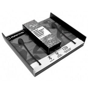 Słuchawki dokanałowe MANTA HDP702BK Czarny