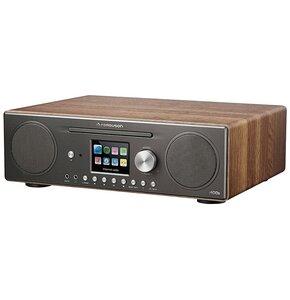 Radio internetowe FERGUSON Spotify i400s Walnut Czarno-brązowy