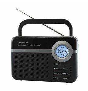 Radio LAUSON RD 121 Czarny
