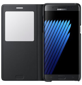 Etui SAMSUNG S View Standing Galaxy Note 7 Czarny