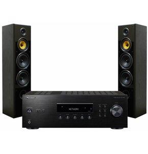 Zestaw stereo PIONEER SX-10AE Czarny + TAGA HARMONY TAV-606F v.3 Czarny