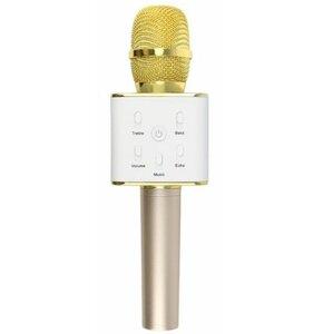 Mikrofon z głośnikiem XREC Karaoke Bluetooth Złoty