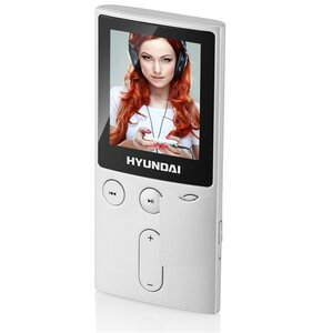 Odtwarzacz MP3 HYUNDAI MPC501GB8FMS 8GB Srebrny