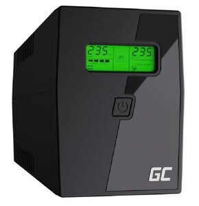 Zasilacz UPS GREEN CELL UPS01LCD 600VA