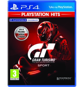 Gran Turismo Sport Gra PS4 (Kompatybilna z PS5)