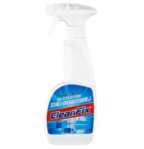 Płyn do czyszczenia stali nierdzewnej CLEANFIX 500 ml
