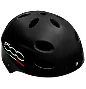 Kask rowerowy FIAT 500 Czarny (rozmiar L-XL)