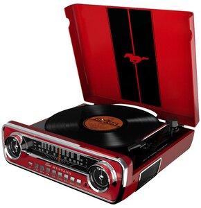 Gramofon ION Mustang LP Czerwony