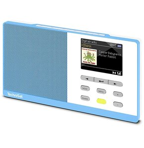 Radio TECHNISAT Digitradio Kira 1 Niebiesko-biały