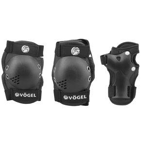 Ochraniacze na rower VÖGEL VOC-550S Czarny dla Dzieci (rozmiar S)