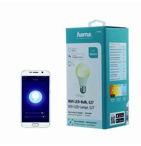 Inteligentna żarówka LED HAMA 001765500000 10W E27 WiFi