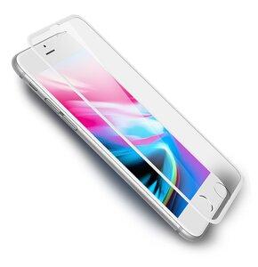 Szkło hartowane ROCK do Apple iPhone 6/6S/7/8/SE 2020 Biały
