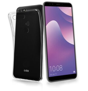 Etui SBS do Huawei Y7 2018/Y7 Prime 2018/Honor 7C Przezroczysty