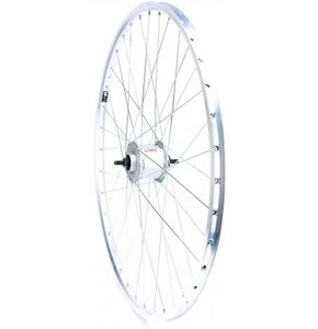 "Koło rowerowe EURO LINE Przód 28"" DH-C3000-3N-NT Srebrny"