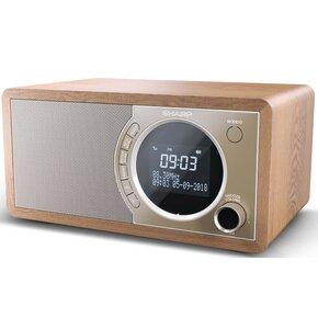 Radio SHARP DR-450(BR) Brązowy