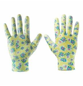 Rękawice ogrodowe VERTO 97H142 Wielokolorowy (rozmiar 9)