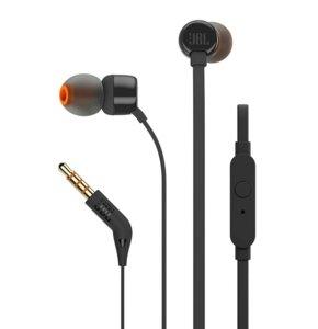 Słuchawki dokanałowe JBL T160 Czarny