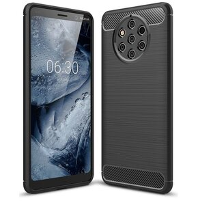 Etui TECH-PROTECT Tpucarbon do Nokia 9 PureView Czarny