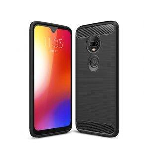 Etui TECH-PROTECT TPUcarbon do Motorola Moto G7/G7 Plus Czarny