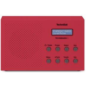 Radio TECHNISAT Techniradio 3 Czerwony