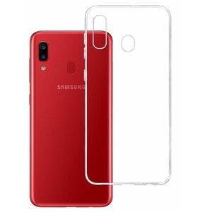 Etui 3MK Clearcase do Samsung Galaxy A20 Przezroczysty