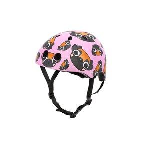 Kask rowerowy HORNIT Pug Medium Różowy Dla dzieci (rozmiar M)