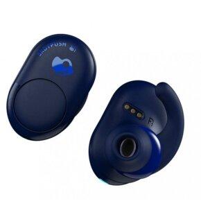 Słuchawki dokanałowe SKULLCANDY Push International Niebieski