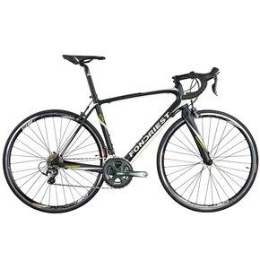Rower szosowy FONDRIEST R30 M20 L 28 cali męski Czarny