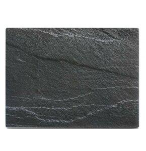 Deska do krojenia ZELLER Schiefer (40 x 30 cm) Antracyt