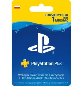 Kod aktywacyjny SONY PlayStation Plus 1 miesiąc