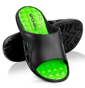 Klapki basenowe SPOKEY Lido Czarno-zielony (rozmiar 42)