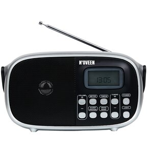 Radio NOVEEN PR850 Czarno-srebrny