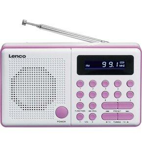 Radio LENCO MPR-034PK Różowy