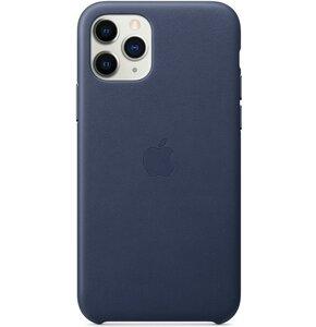 Etui APPLE Leather Case do iPhone 11 Pro Granatowy