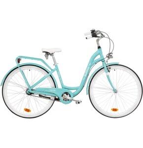Rower miejski INDIANA Moena A7B 28 cali damski Lazurowy