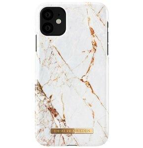 Etui IDEAL OF SWEDEN Carrara Gold do Apple iPhone 11