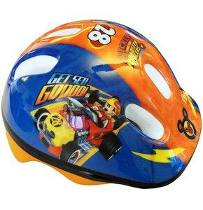 Kask rowerowy DISNEY Myszka Miki Niebiesko pomarańczowy Dla dzieci (rozmiar 44-48)