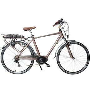 Rower elektryczny CINZIA Sfera BF D18 28 cali damski Brązowy