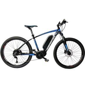 Rower elektryczny CINZIA Sfera BF M18 27.5 cala męski Niebiesko-szary