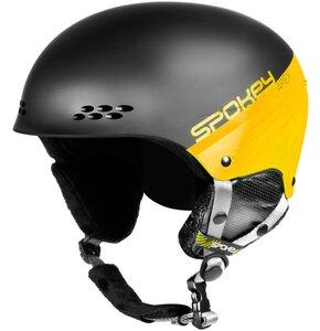 Kask narciarski SPOKEY Apex Czarno-żółty (rozmiar L/XL)