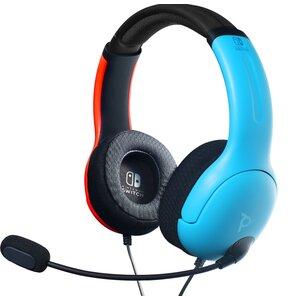 Słuchawki PDP LVL40 Niebiesko-czerwony