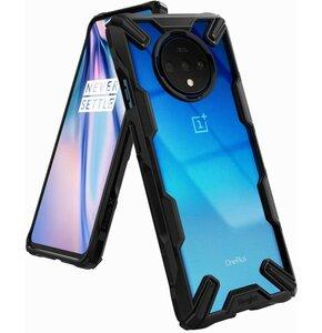 Etui RINGKE Fusion X do OnePlus 7T Czarny transparentny