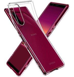 Etui SPIGEN Liquid Crystal do Sony Xperia 5 Przezroczysty