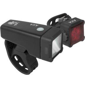 Zestaw lampek rowerowych AXA Niteline T4-R
